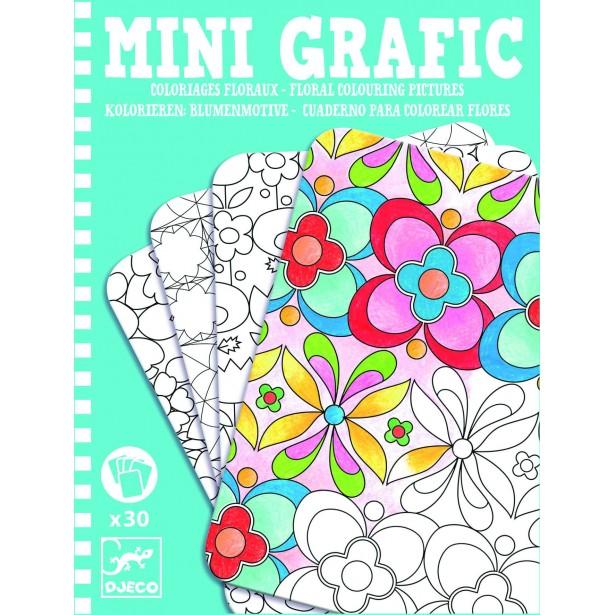 Mini grafic Djeco - Flori