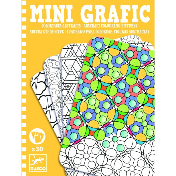 Mini grafic Djeco - Abstract