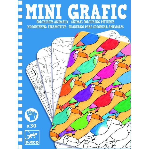 Mini grafic Djeco - Animale