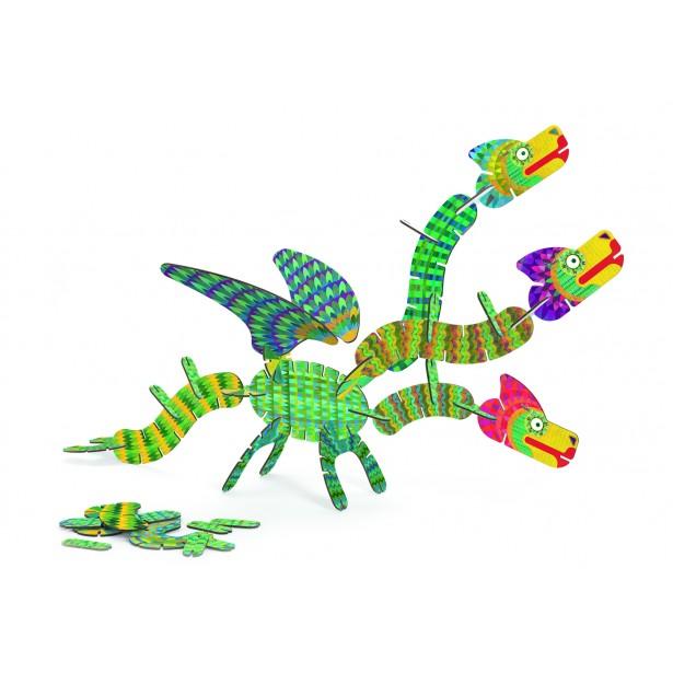 Joc de construit - Volubo dragoni Djeco