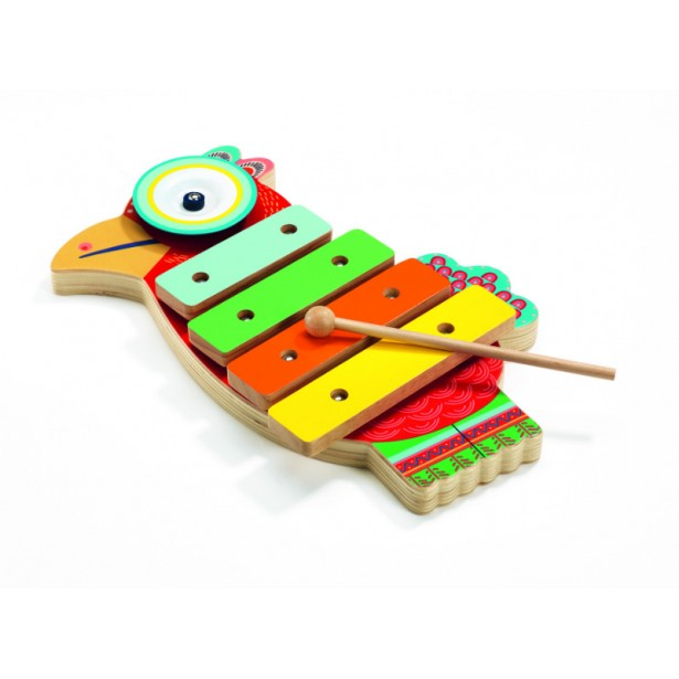 Xilofon si tambal - jucarii muzicale Animambo de la Djeco