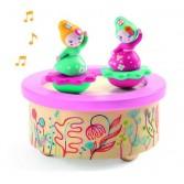 Cutie muzicala magnetica Djeco - Flori