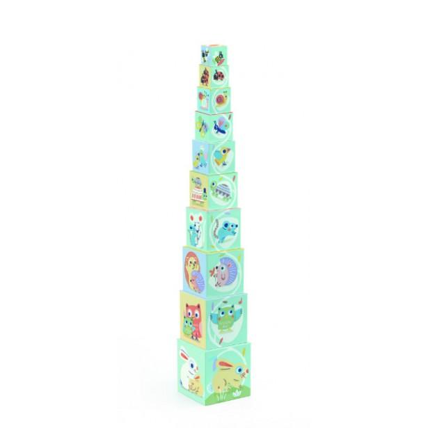 Turn de construit Djeco - BabyBloki