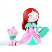 Printesa Rosa & pisicuta - Colectia Arty toys - Djeco