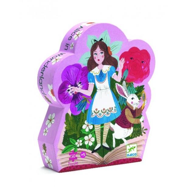 Puzzle Djeco - Alice in tara minunilor