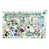 Puzzle observatie Djeco - 1000 de flori