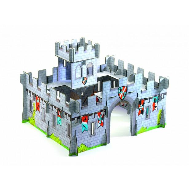 Macheta 3D Djeco - Castel medieval