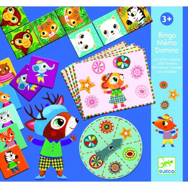 Bingo Djeco - Memo Domino