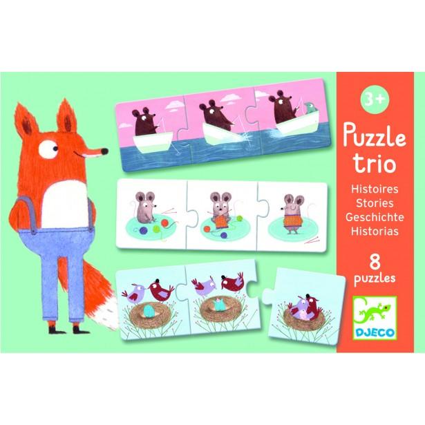 Puzzle trio Djeco cauza - efect