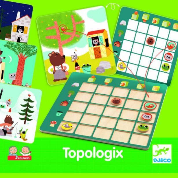 Joc de logica Djeco - Topologix
