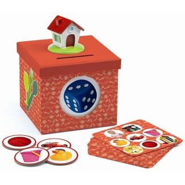 Cartonase Djeco - obiecte casnice Kioukoi