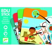 Edu-Stick Djeco - Stickere educative cu Anotimpuri
