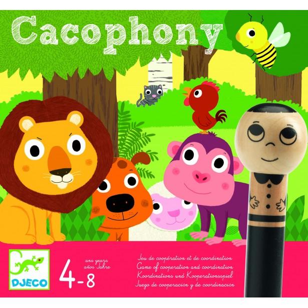 Joc de cooperare Djeco - Cacophony