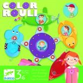 Joc tactic Djeco - Caruselul culorilor