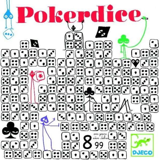 Joc de societate Djeco - Pokerdice
