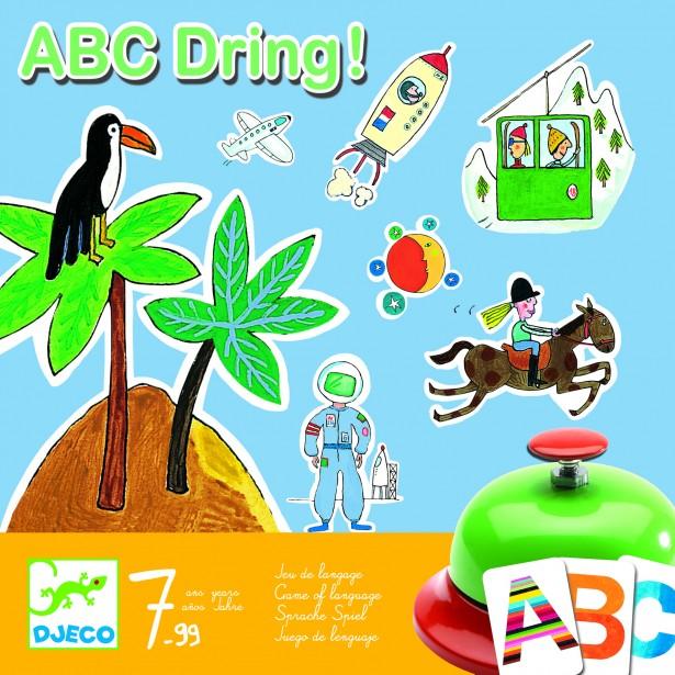 Joc de societate Djeco - Abecedar - ABC