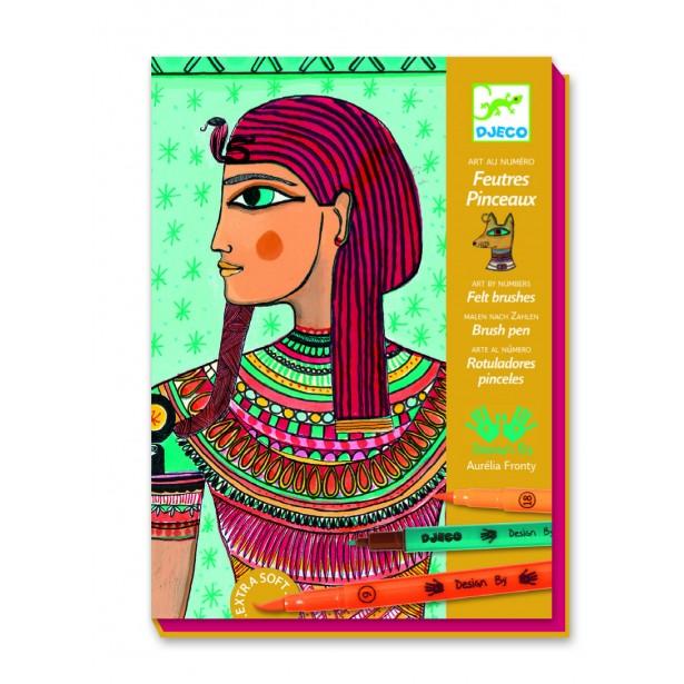 Atelier desen Djeco - Arta egipteana
