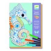 Atelier creativ desen Djeco - motive artistice