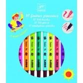Carioci pensula Djeco - culori pop