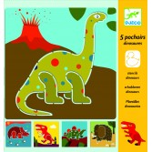 Sabloane Djeco - Dinozauri