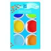 6 culori Guase - pastile gigant Djeco