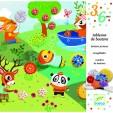 Atelier creativ cu nasturi Djeco - Anotimpurile