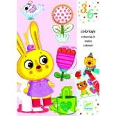 Atelier de desen pentru copii Djeco - Iepuras