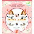 Stickere pentru fata Djeco - pisica