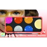 Culori make-up non alergice Djeco - metalic