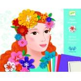 Atelier colaj flori Djeco