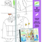 Planse de desenat Djeco - Ascunselea