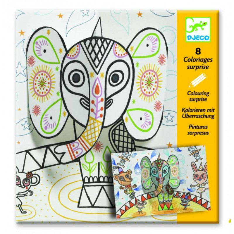 Planse De Desenat Pentru Copii Djeco Circul