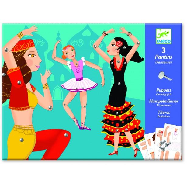 Joc creativ Djeco - Dansatoare in miscare