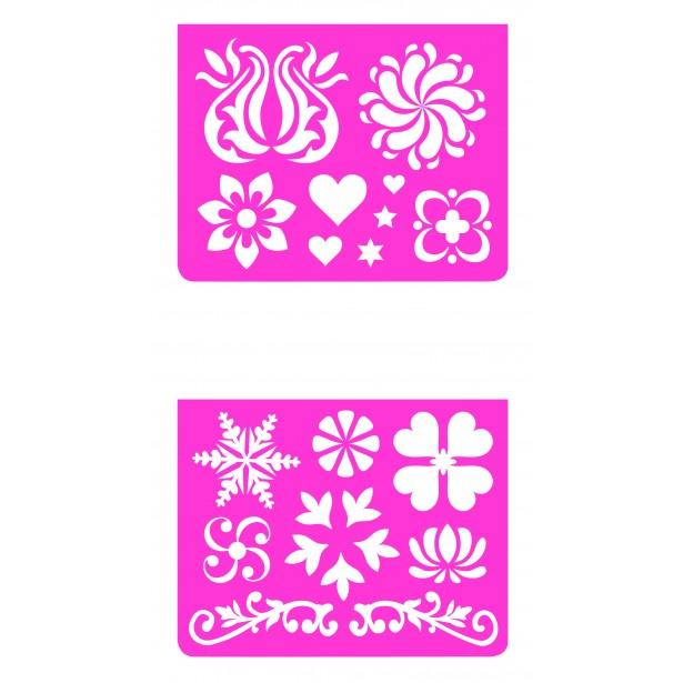 Set sabloane Djeco - ornamente