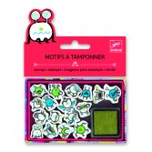 Set stampile Djeco - emoticons