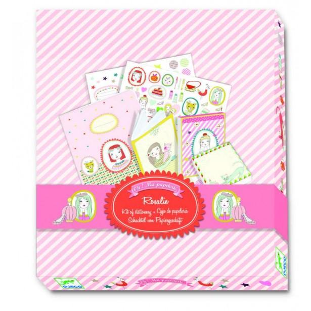 Agenda personalizata Djeco - Rosalie