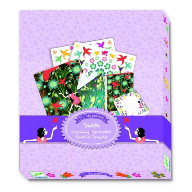 Agenda personalizata Djeco - Violette