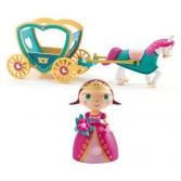 Printesa Alycia si caleasca macheta 3D - Colectia Arty toys - Djeco