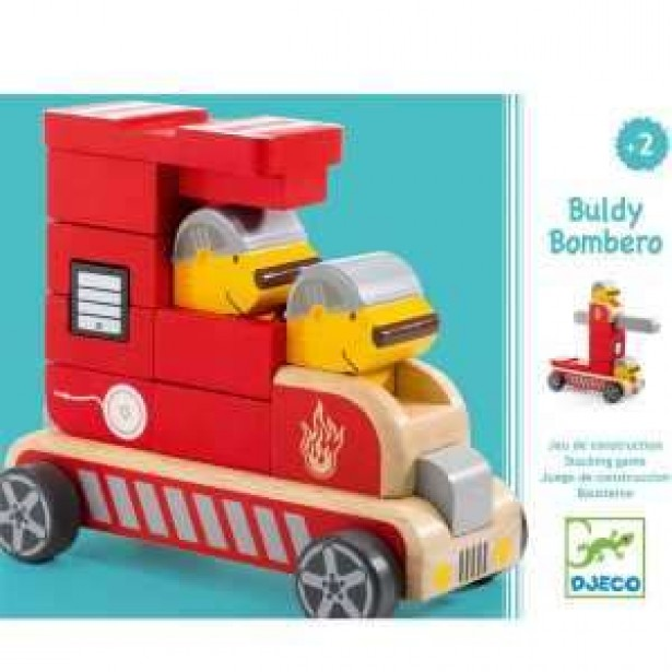 Masina de pompieri Djeco - Buldy Bombero