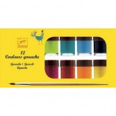 12 Culori guase Djeco