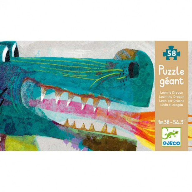 Puzzle gigant Djeco - Dragon