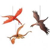 Decoratie camera copil Djeco - dragoni
