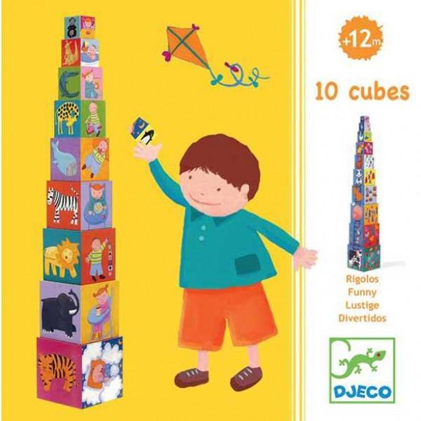 Turn de construit Djeco - Scara