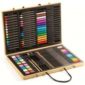 Instrumente de arta - Cutie mare cu culori Djeco