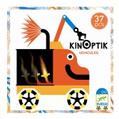 Joc magnetic Kinoptik Djeco - Vehicule