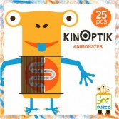 Joc magnetic Kinoptik Djeco - Animonsters