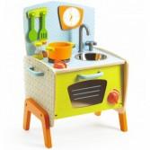 Joc de rol - Mini bucatarie din lemn pentru copii Djeco