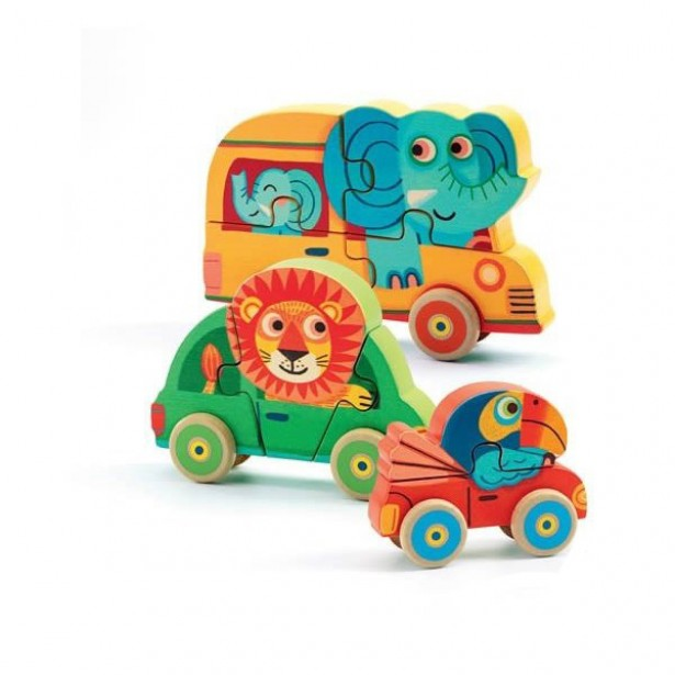Figurine Puzzle Djeco - Pachy&Co