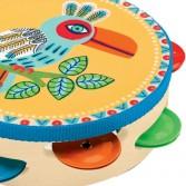 Tamburina - jucarie muzicala Animambo de la Djeco