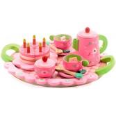 Joc de rol - Set aniversar roz si verde de la Djeco